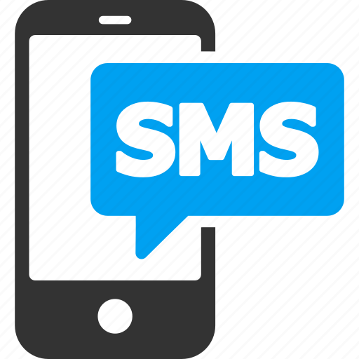 chat, communication, mobile, phone, short message service, smartphone, sms icon