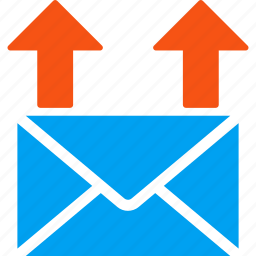 communication, correspondence, email marketing, letter, mail spam, message, send icon