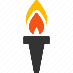 flame, liberty, light, peace, sport fire, success, torch icon