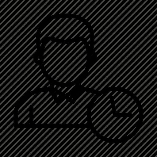 avatar, deadline, man, time, user icon