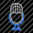 audio, mike, recorder, sound, speaker icon