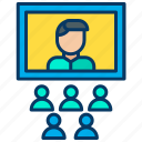 internet, meeting, network, online, shop, shopping, web icon