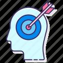 adveritising, behavioral, seo, targeting icon