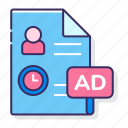 advertising, grp, marketing, seo icon
