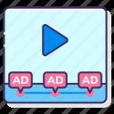 in, stream icon
