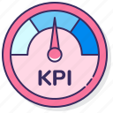 advertising, kpi, measure, meter icon