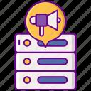 ad, database, server, storage