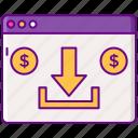 advertising, cpi, marketing, money icon
