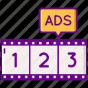 advertising, countdowna, dai, marketing icon