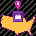 dma, location, marketing, pin