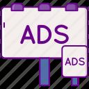 advertising, dooh, marketing, seo icon