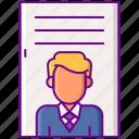 advertising, employee, person, pii, profile