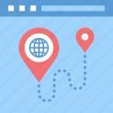address, location, map, marker, navigation, site, web
