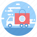 car, delivery, logistics, shopping, transportation, truck, vehicle