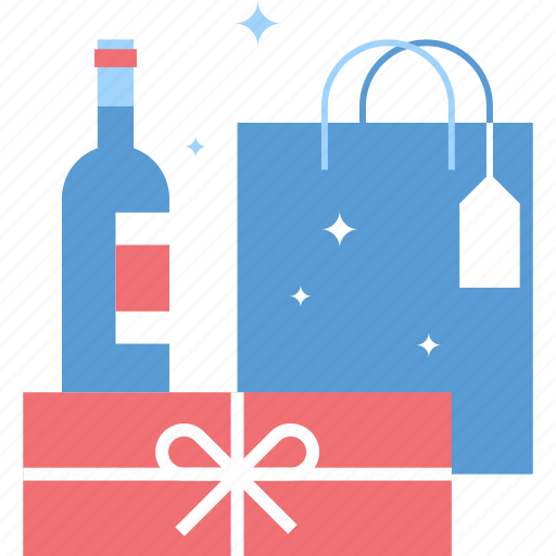 buy, commerce, gift, holiday, present, retail, shopping icon