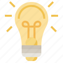 bulb, electricity, idea, illumination, invention, light, seo