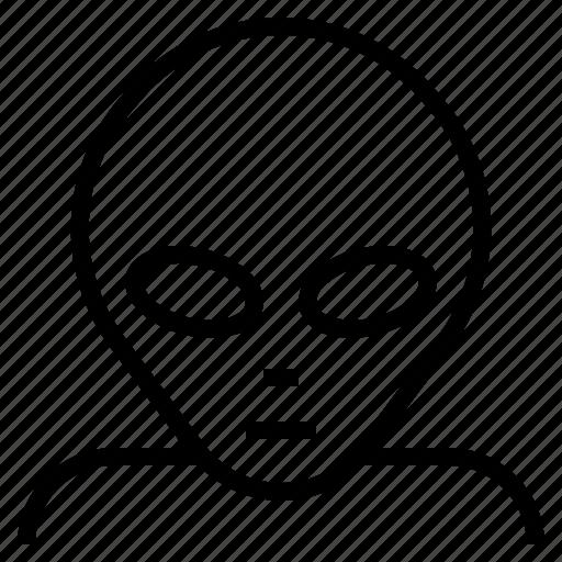 alien, avatar, face, monster, ufo icon