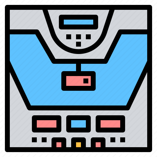 astronautic, controler, craft, engineering, flight, simulator, spaceship icon