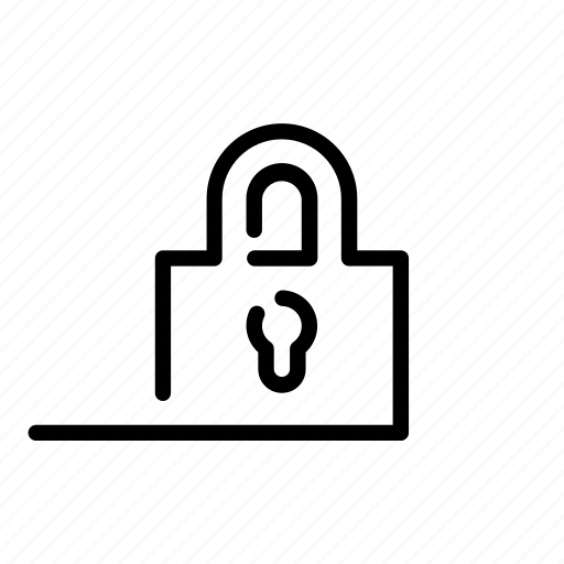 afloat, intranet, lock, padlock, password, private, slide icon