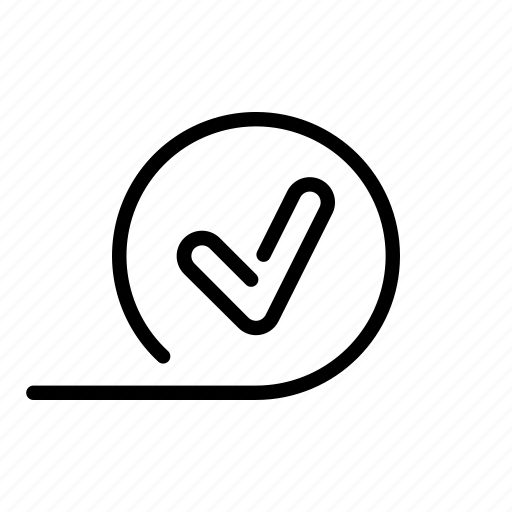 afloat, approve, checkmark, done, okay, slide, todo icon