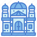 architectonic, basilica, catholic, landmark icon