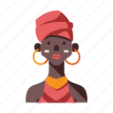 african, african tribe female, ethiopia, female, kenya, tribal, tribe icon