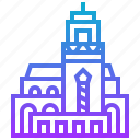 africa, building, hassan, mosque icon