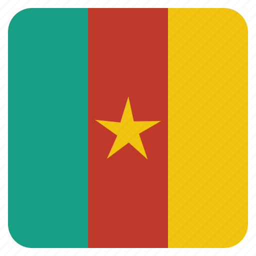 cameroon, country, flag, national icon