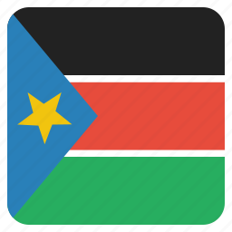country, flag, national, south, sudan icon