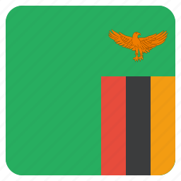 country, flag, national, zambia icon