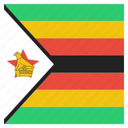 african, country, flag, national, rhodesia, zimbabwe icon