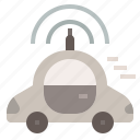automatic car, car, driverless car, transport, vehicle icon