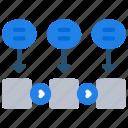 agile, development, fdd, scrum, software icon