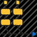 agile, development, kanban, scrum, software icon