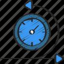 agile, development, scrum, sprint, time icon