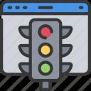 agile, lights, project, scrum, status, traffic icon