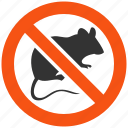animals, danger, deratization, mouse, protection, rat, veterinary icon
