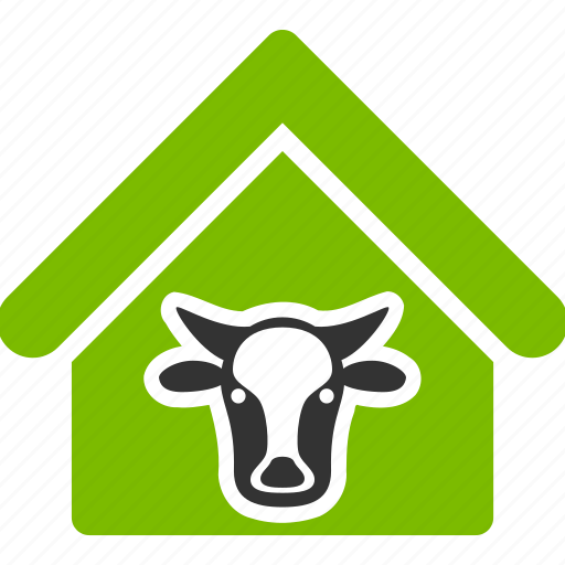 agriculture, bio, bull, cow, farm, farmer, farming, pet, village icon