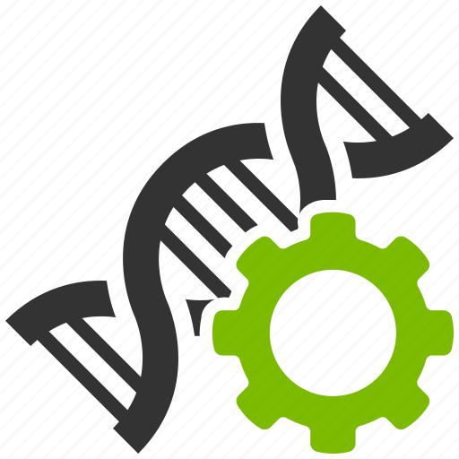 configuration, genetic technology, medical, research, science, settings, tools, virus icon