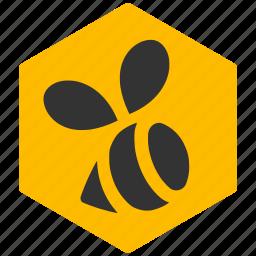bee, food, honey, natural, sugar, sweet icon