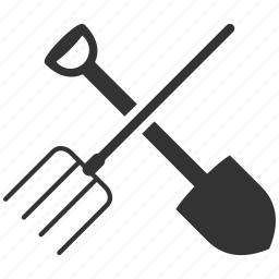 agriculture, configuration, control, crotch, desktop, equipment, farm, fork, hayfork, instrument, maintenance, options, pike, pitchfork, prong, service, setting, settings, setup, shovel, system, tool, tools, work icon