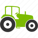 tractor, agriculture, farm, machine, industry, truck, work