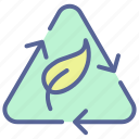 eco-friendly, environment, recycle, reuse icon