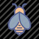 apiary, bee, honey, nectar icon