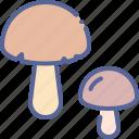 healthy, mushroom, shroom icon