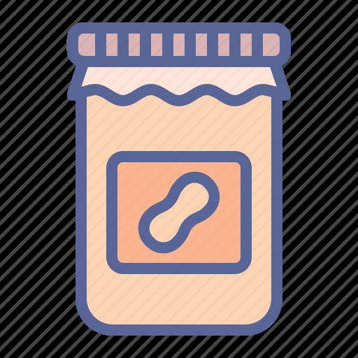 butter, groundnut, jar, peanut icon