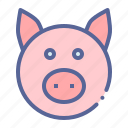 farm, meat, pig, savings