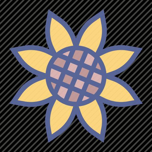 flower, spring, sunflower icon