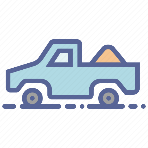 Farm, truck, vehicle, manure icon - Download on Iconfinder