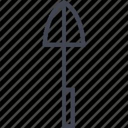 accessory, dirt, farming, shovel, tool icon